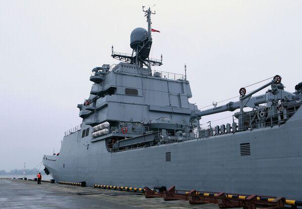 La grande nave da sbarco Ivan Gren - Sputnik Italia