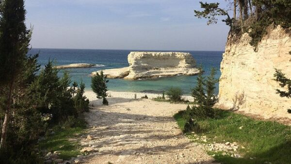 La costa mediterranea della Latakia - Sputnik Italia
