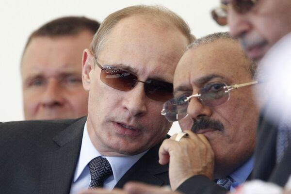 Saleh e gli altri: gli incontri con i grandi leader dell'ex presidente dello Yemen - Sputnik Italia