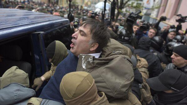 Задержание бывшего президента Грузии Михаила Саакашвили в Киеве - Sputnik Italia