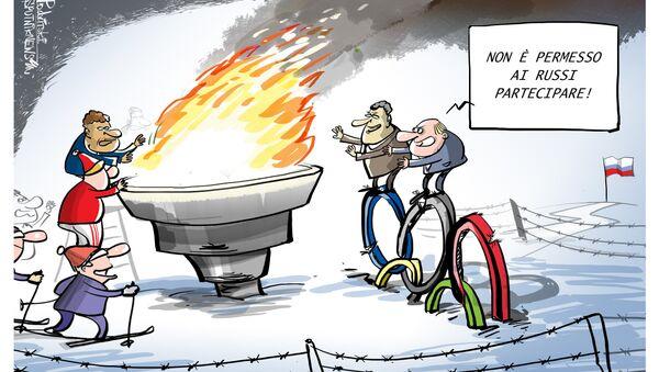 La Russia non parteciperà alle prossime Olimpiadi Invernali di PyeongChang 2018 - Sputnik Italia