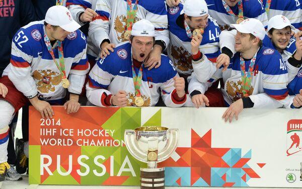 La Russia campione del mondo di hockey nel 2014 - Sputnik Italia