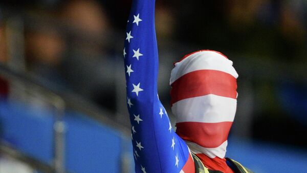 Un tifoso americano alle Olimpiadi di Sochi 2014 - Sputnik Italia