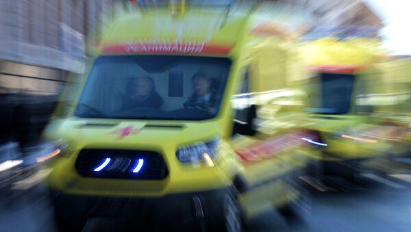 На церемонии вручения автомобилей Скорой медицинской помощи учреждениям здравоохранения Республики Татарстан - Sputnik Italia