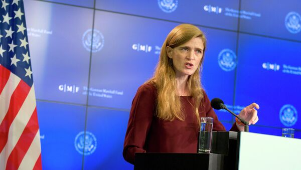 Rappresentante USA presso ONU Samantha Power - Sputnik Italia