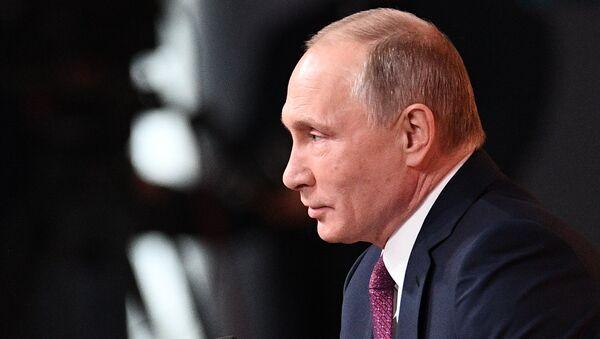 Vladimir Putin's annual news conference - Sputnik Italia