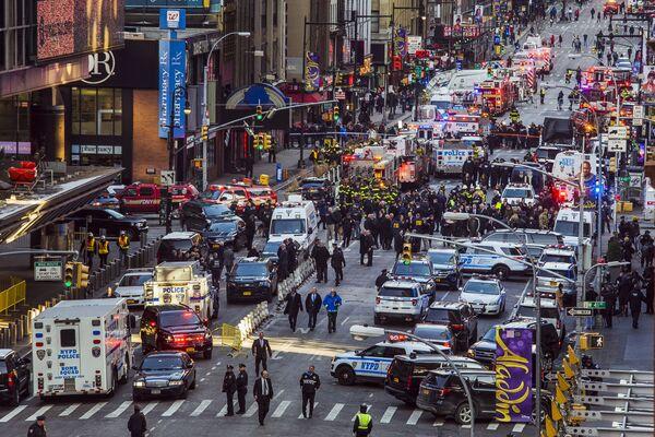 Dopo l'esplosione a New York. - Sputnik Italia