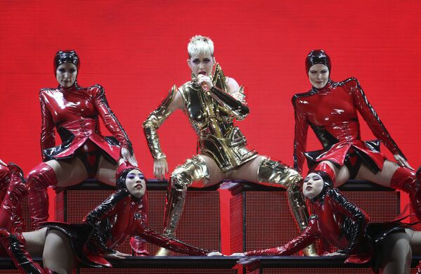 La cantante americana Katy Perry ad Atlanta, USA. - Sputnik Italia