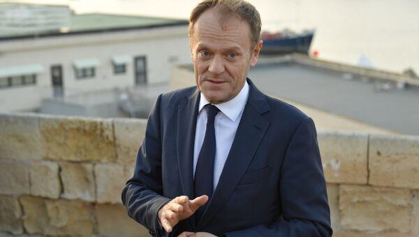 Il presidente del consiglio Ue Donald Tusk - Sputnik Italia