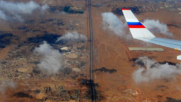 Territorio egiziano visto dall'oblò di un aereo russo - Sputnik Italia
