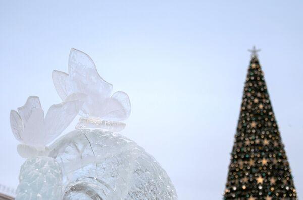 La città di ghiaccio a Tomsk - Sputnik Italia