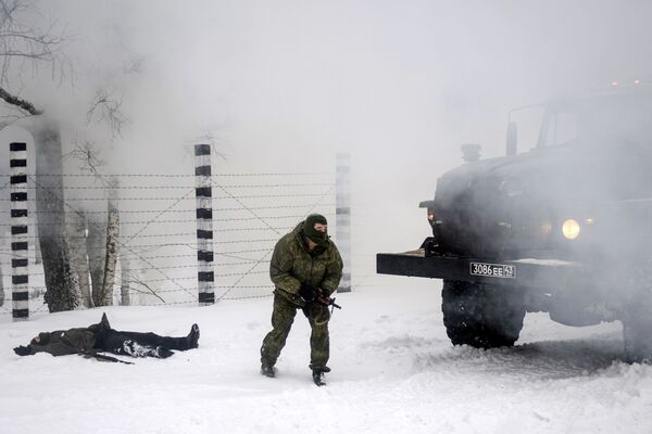 Manovre militari con gli S-400 nella regione di Leningrad. - Sputnik Italia