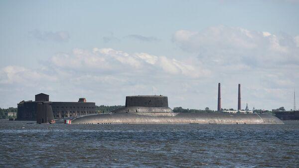 Sottomarino nucleare Dmitry Donskoy - Sputnik Italia