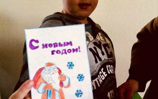 Buon Anno dagli scolari di Donetsk - Sputnik Italia