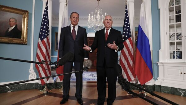 Sergei Lavrov e Rex Tillerson a Washington - Sputnik Italia