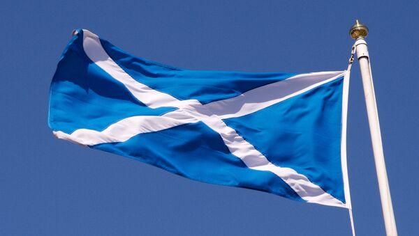 Bandiera della Scozia  - Sputnik Italia