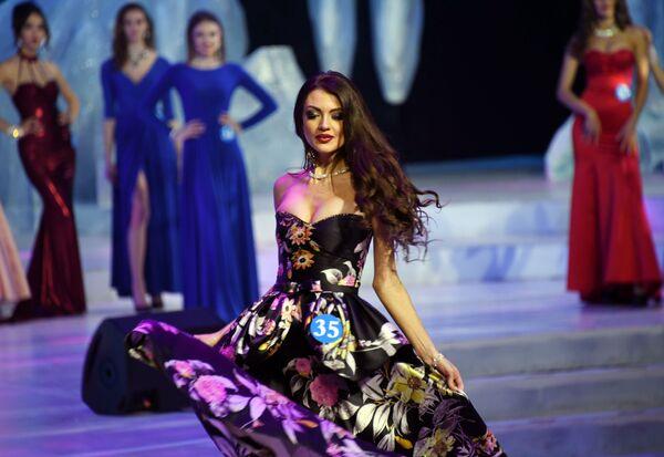 Svetlana Andrusova al concorso internazionale L'ambasciatrice della Bellezza in Manciuria. - Sputnik Italia