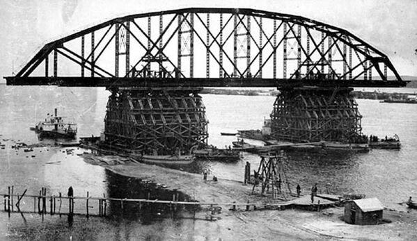 La costruzione della Transiberiana nelle foto d'archivio - Sputnik Italia
