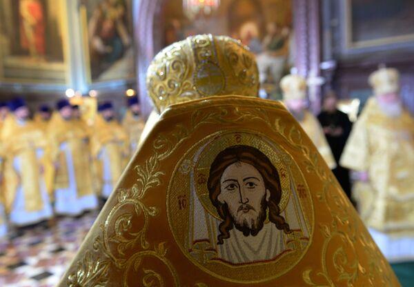I preti nella Cattedrale di Cristo Salvatore. - Sputnik Italia
