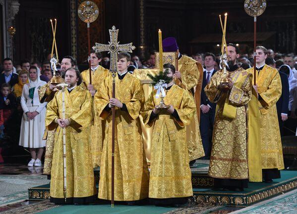 I preti durante la Messa di Natale. - Sputnik Italia