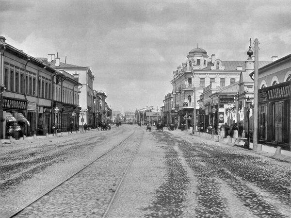 Mosca a confronto: 100 anni fa ed oggi - Sputnik Italia
