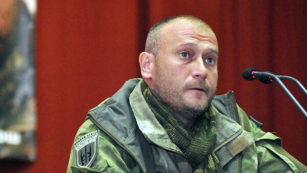 Leader estrema destra ucraina Dmitry Yarosh - Sputnik Italia