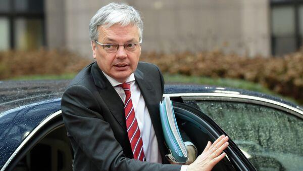 Didier Reynders, ministro Esteri Belgio - Sputnik Italia