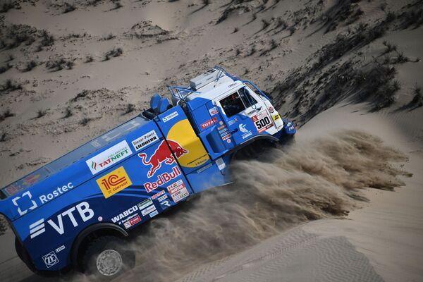 La squadra di KAMAZ-Master alla Rally Dakar, Perù. - Sputnik Italia