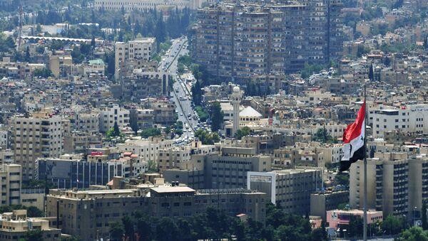 A view of Damascus from Qasioun Mountain - Sputnik Italia