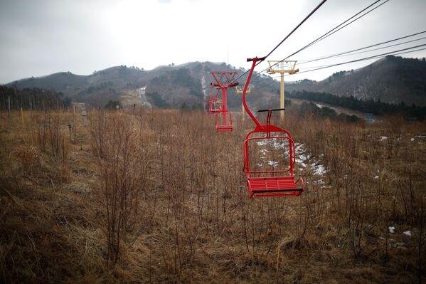 Scene da apocalissi nucleare sulle alpi della Corea - Sputnik Italia