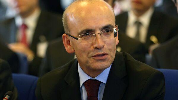 Vice premier turco Mehmet Shimshek - Sputnik Italia