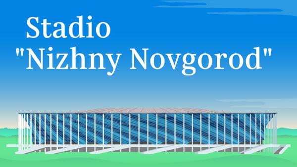 Stadio Nizhny Novgorod - Sputnik Italia