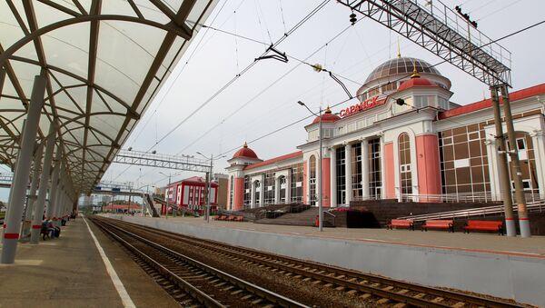 Stazione ferroviaria di Saransk - Sputnik Italia