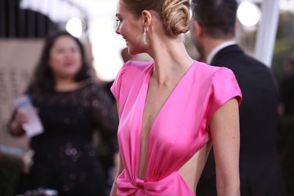 L'attrice Samara Weaving alla Screen Actors Guild Awards 2018 a Los Angeles, California, USA. - Sputnik Italia