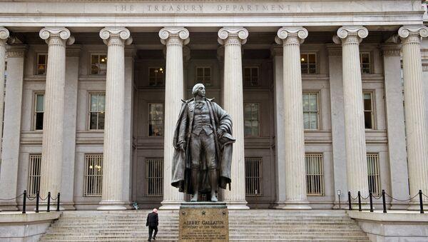 Dipartimento del Tesoro degli Stati Uniti - Sputnik Italia