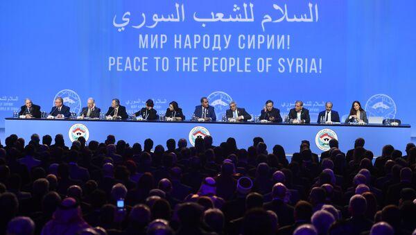 Il Congresso nazionale di dialogo siriano - Sputnik Italia