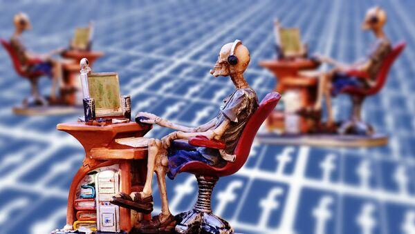 Facebook, social media - Sputnik Italia