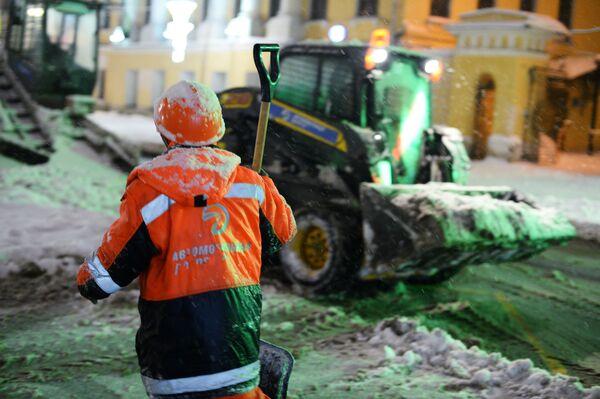 Nevicata da record a Mosca - Sputnik Italia
