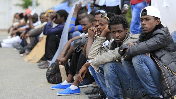 Migranti a Ventimiglia - Sputnik Italia