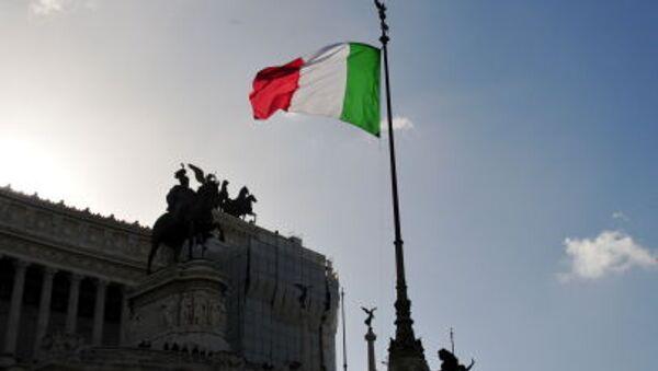 Bandiera italiana, il Vittoriano - Sputnik Italia