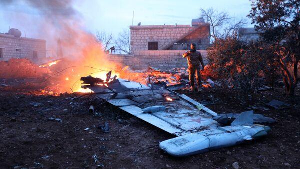Su-25 abbattuto nella provincia di Idlib - Sputnik Italia
