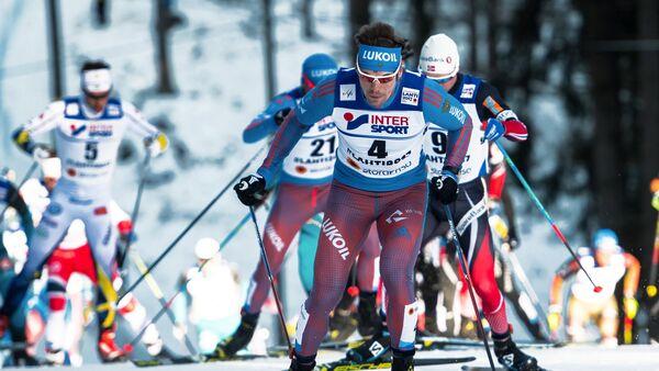 Sergei Ustyugov (Russia) during the men's 50km freestyle mass start at the FIS Nordic World Ski Championships 2017 in Lahti, Finland - Sputnik Italia