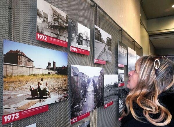 L'esposizione 28 anni con il Muro di Berlino e senza di essa a Berlino. - Sputnik Italia