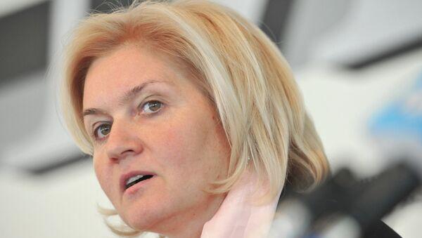Russian Deputy Prime Minister Olga Golodets - Sputnik Italia