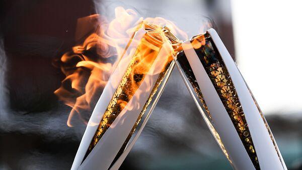 Il fuoco olimpico alle Olimpiadi 2018 - Sputnik Italia