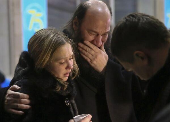 Gli amici e parenti delle vittime. - Sputnik Italia