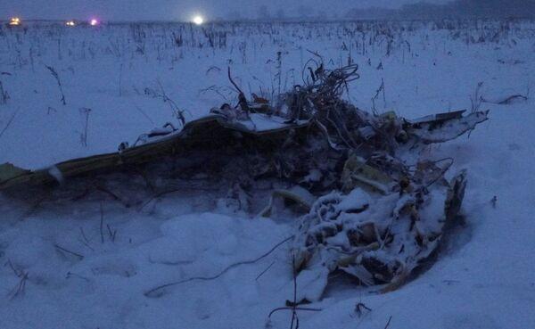 Il relitto dell'aereo An-148. - Sputnik Italia