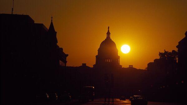 Campidoglio di Washington al tramonto - Sputnik Italia