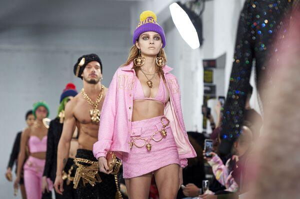 Modelle della Nicopanda alla London Fashion Week - Sputnik Italia