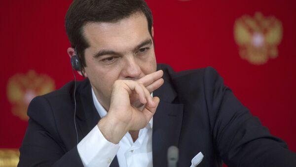 Primo ministro greco Alexis Tsipras - Sputnik Italia